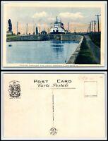 CANADA Postcard - Cornwall, Ship In Locks AK