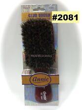 ANNIE CLUB BRUSH 100% BOAR BRISTLE ITEM# 2081 SOFT