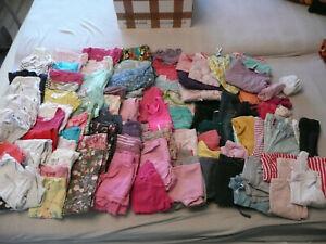 XXL Bekleidungspaket Mädchen 86/92 über 100 Teile