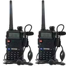Original 2X Baofeng UV-5R NEW Dual Band UHF/VHF Radio RF 5W OUTPUT NEW Version