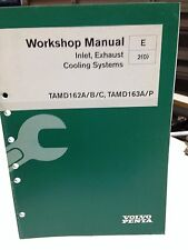 VOLVO PENTA WORKSHOP MANUAL INLET, EXHAUST, COOLING SYSTEMS P/N 7739088 (dbx2)