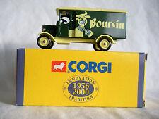 Camionnette de Livraison Morris Van Boursin - Corgi 1:46
