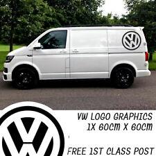 1x 60cm VW Transporter Camper Van Logo Graphic Large Graphics Decals T4 T5 Caddy