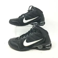 Nike Dream Zoom Air Shox Basketball Shoes Athletic Spring Lace Up Black Mens 7.5