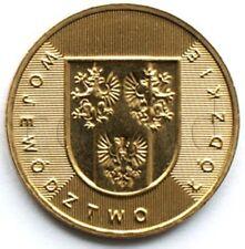 Poland 2 zloty 2004 Łódź Province (Województwo łódzkie) UNC (#1420)