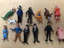 tintin série complète  Esso-Belvision1973 de figurines le lac aux requins .
