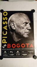 Pablo Picasso expo Museo Nacional Bogota Colombia 2000 original art poster