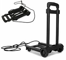Folding Compact Lightweight Premium Durable Luggage Cart - Travel Trolley -