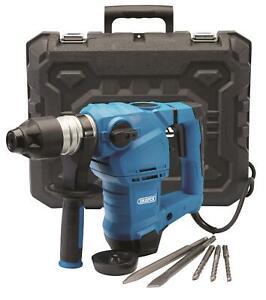 Draper 5.0J SDS Plus 3-Mode Rotary Hammer Drill / Breaker & Chisels 240v, 56404