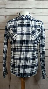 Edwin Long Sleeved Labour Shirt Large Plaid Check Flannel size Large