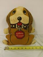 Vintage 1972 Lerner Newsgroup Newspup Cloth Stuffed Plush Advertising Doll