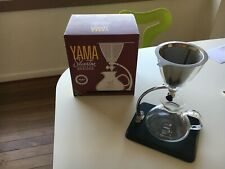 Yama Silverton Stainless Steel Coffee/Tea Dripper