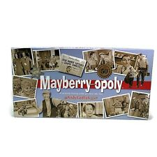 Mayberry-opoly Property Trading Game Andy Griffith Show 100% Complete Monopoly