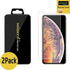 2-Pack SOINEED Apple iPhone XS / XR / XS Max Tempered Glass Screen Protector