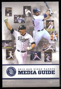 2013 SAN DIEGO PADRES MEDIA PRESS GUIDE   MINT CONDITION