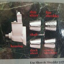 New listing 🥗Vintage KitchenAid Slicer & Shredder 4 Cones - Stand Mixer Attachment�