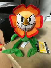 """Cagney Carnation Cuphead 10"""" Stuffed Plush New Series 2 Christmas Us Seller"""