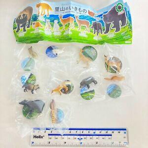 Nature Techni Colour MICRO Figure Japanese Creatures Full Set of 10 Ikimon Japan