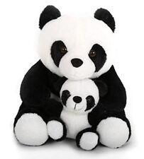 Noir et Blanc Panda et Bébé Cale-Porte - TX0893