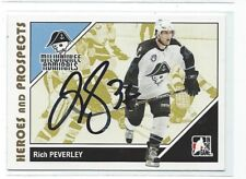 Rich Peverley Signed 2007/08 Heroes And Prospects Card #43