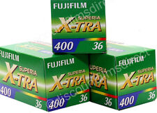 3 x FUJI FUJICOLOR SUPERIA 400 35mm 36 exp COLOUR CAMERA FILM by 1st CLASS POST