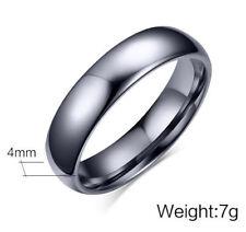 Men Women Tungsten Steel Wedding Ring Valentines Love Anniversary Band Size J-y Women's 7
