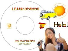 LEARN HOW TO SPEAK SPANISH LANGUAGE ON MP3 AUDIO CD USE IN CAR / PC / MP3 PLAYER