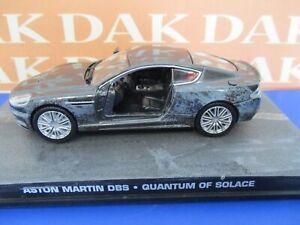 Die cast 1/43 Modellino Auto 007 James Bond Aston Martin DBS Crash Car Quantum