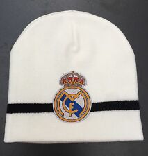 Real Madrid FC Beanie Hat One Size Fits All Brand New Knitted