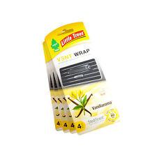 Little Trees Vent Wrap Air Freshener 4-PACKS (Vanillaroma)