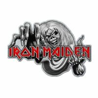 """IRON MAIDEN - """"NUMBER OF THE BEAST"""" - HIGH QUALITY METAL BADGE - LAST ONE!"""
