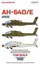 Caracal Decals 1/48 Boeing Ah-64D/E Apache Attack Helicopter