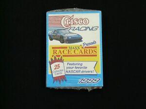 1989 Maxx Crisco Racing Factory Sealed 25-Card Set