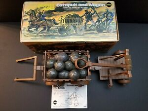 "1974 Mego Vintage ""PLANET OF THE APES"" ""CATAPULT & WAGON"" SET Complete With BOX"