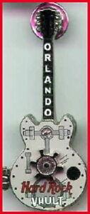 Hard Rock VAULT ORLANDO 2002 Hinged Door Guitar PIN Safe with Spinner Lock, COOL