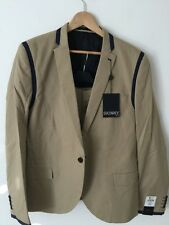 TopMan Beige Skinny Fit Suit 44in
