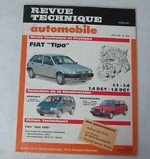 Revue technique automobile RTA n° 504 1989 Fiat Tipo 1.1 1.4 1.6 DGT