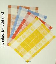 4er Set Geschirrtuch HALBLEINEN Küchentuch Handtuch Küchenhandtuch FISCHE Küche