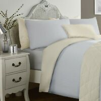 Dreams & Drapes Bedding Set Grey Ochre Reversible Duvet Cover Bedroom Linen