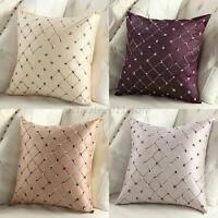 Home Car Sofa Bed Decor Waist Throw Pillow Case Square Sofa Cushion Cover Shell