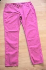 BODEN bright pink cord ankle skimmer   jeans size 8p   WC121