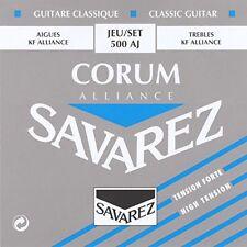 Cordes pour Guitare SAVAREZ Corum Alliance Haut tension Jeu/set 500aj