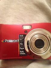Polaroid i1237 Anti Shake Digital Camera 12mp-Face Tracking-2.7' Colour LCD Scre