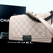 Authentic CHANEL 19437321 Boy Chanel Chain Shoulder Bag lambskin[Used]