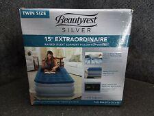 TWIN Beautyrest Silver Extraordinaire with iFlex Support Internal Pump M34C-E
