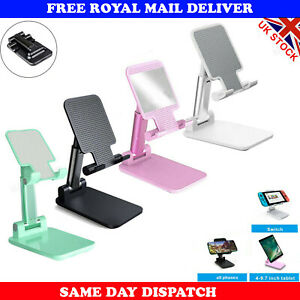 Portable Mobile Phone Stand Desktop Holder Table Desk Mount For iPhone iPad Tabs
