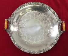 """Wilcox International Silver Plate Co. Beverly Manor  N 7062 Serving Tray 10.25"""""""