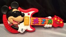 Disney Rock Star Mickey Mouse Musical Guitar with Sound - Disney Toy -