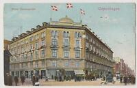 DENMARK Old postcard Crowne Plaza Hotel Cosmopolite To Paris Year: 1909