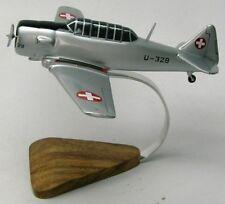 Noorduyn AT-16 Harvard Airplane Desktop Wood Model Large